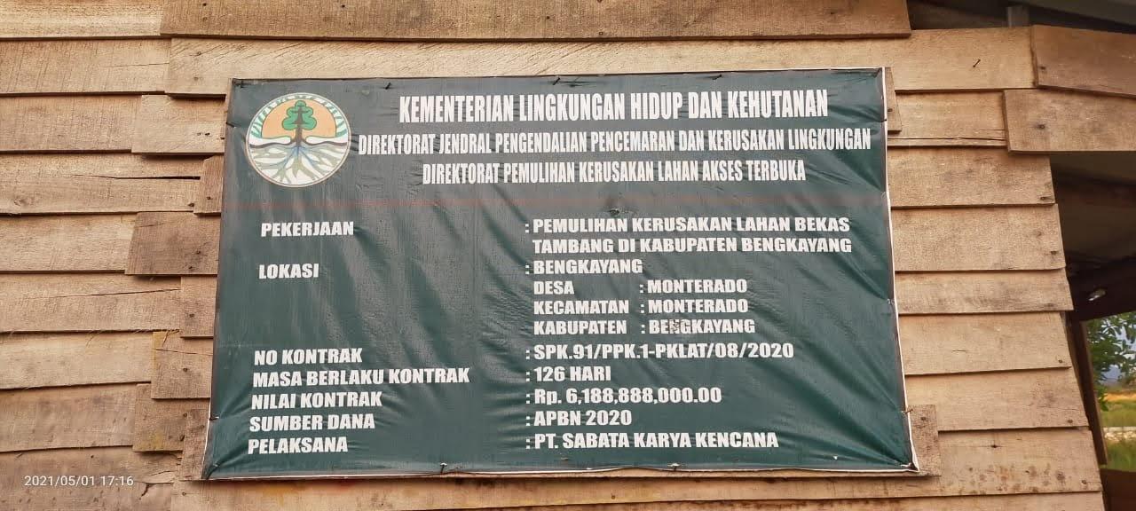 Aneh Dan Ajaib Proyek Miliaran Tidak di ketahui oleh Kementrian BPDASHL Kalimantan Barat