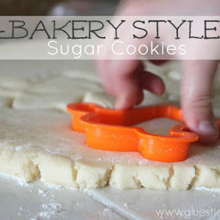 Bakery Style Sugar Cookie.