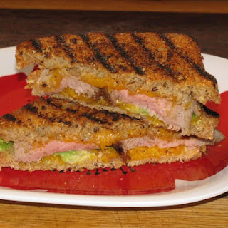 Steak, Avocado and Cheddar Healthy Panini Sandwich Recipe