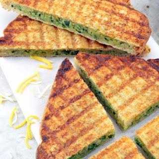 Grilled Falafel Sandwich.
