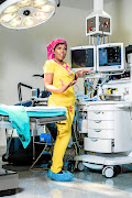 Anesthesiologist Patience Ntshani is the barrier between death situations.