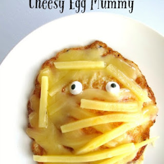 Cheesy Egg Mummy