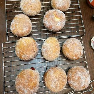 Bread Machine Raised Doughnuts.