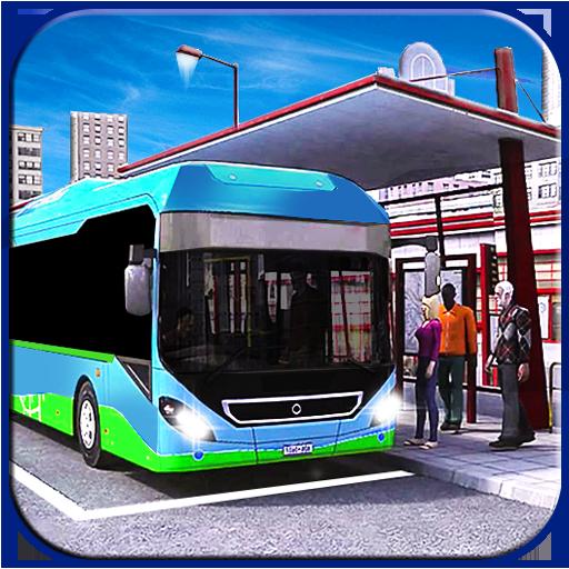 Off road modern metro bus: crazy simulator drive