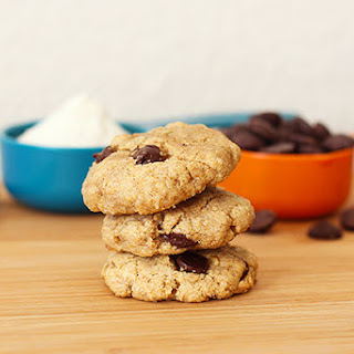 Chocolate Chip and Sunflower Seed Olive Oil Cookies
