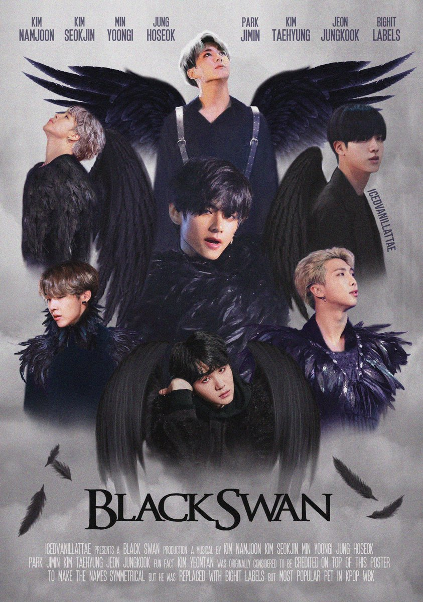 "10+ BTS ""Black Swan"" Photo Edits And Artworks That Will ..."