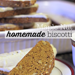 Maple Nut Biscotti