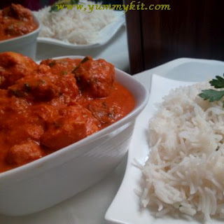 Afghani Chicken Curry