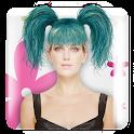 Hair Photo Fun Montage Maker icon