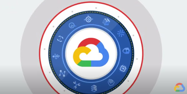 Google Cloud logo centered inside a circle