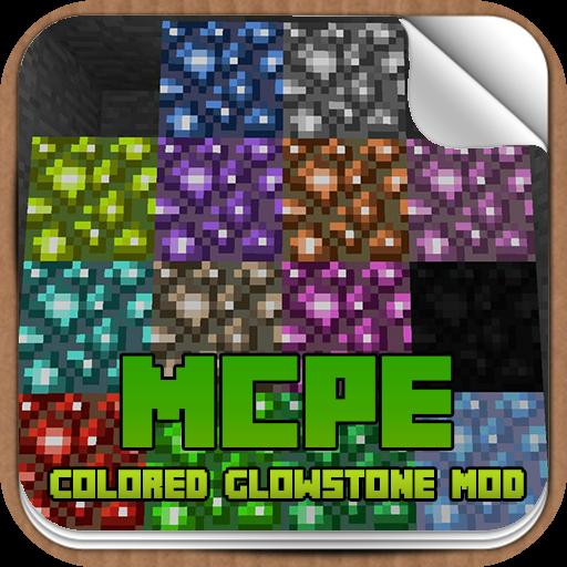 Colored Glowstone Mod