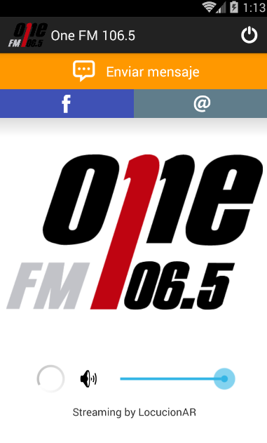 One FM 106.5- screenshot