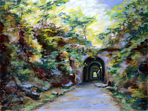 Photo: Brushy Mountain Tunnel on Silver Comet Trail