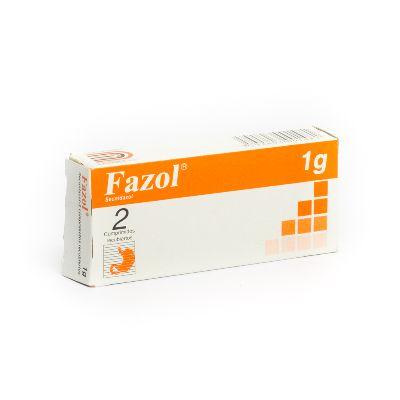 secnidazol fazol 1g 2comprimidos dollder