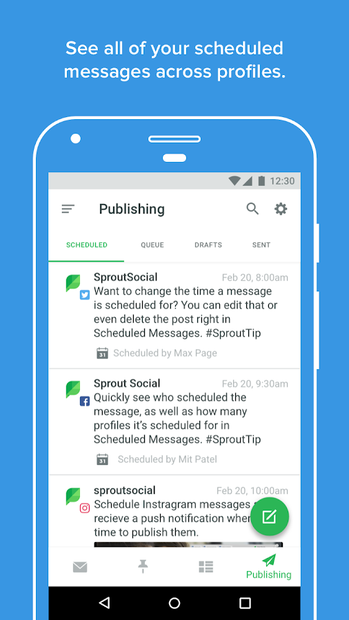 Sprout Social - Social Media- screenshot