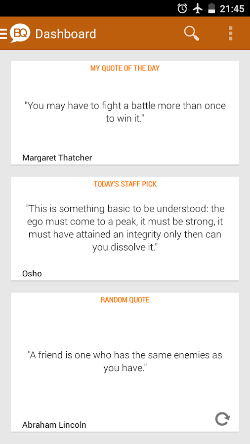 Brilliant Quotes & Quotations- screenshot
