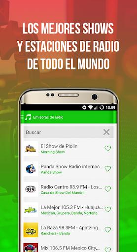 Radiulo Free Mexican music and Mexican radio 6.1.1 screenshots 3