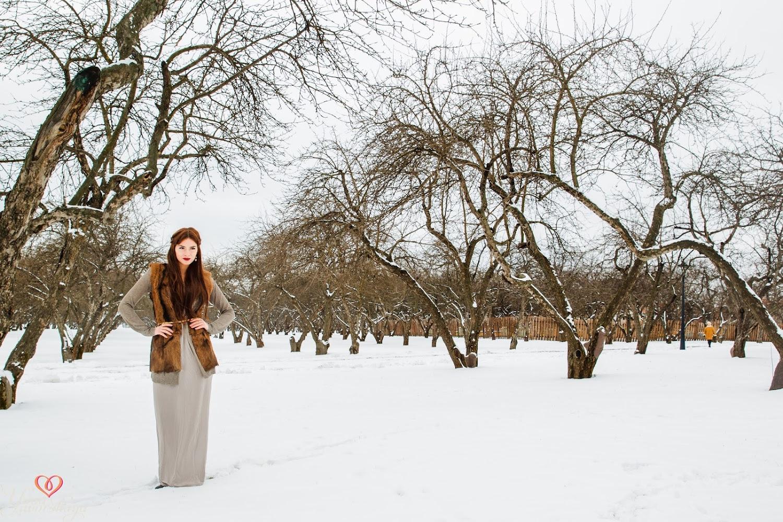 барнаульцы предметы для фотосессии зимой текстиль, дерево