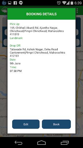 Wings Cabs - Radio Taxi Pune screenshot 2