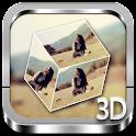 My Photo 3D cube Live WP icon