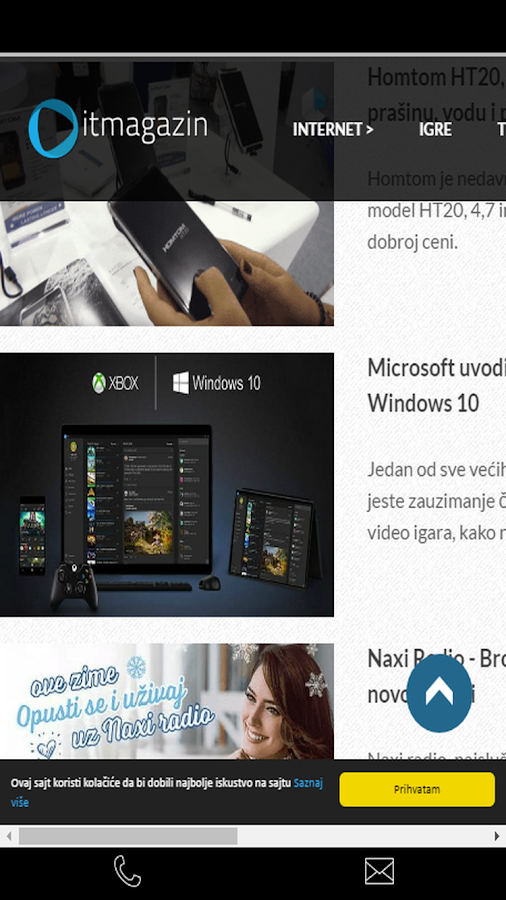 IT magazin- screenshot