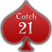 \u2663 Catch 21 Blackjack Solitaire Game
