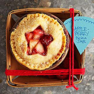 Apple-Berry Pie in a Jar