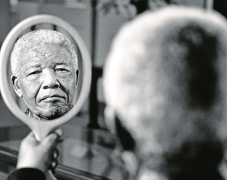A New York collector paid R2m for this portrait of Nelson Mandela by Adrian Steirn