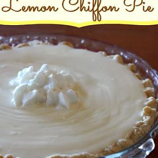 Lemon Chiffon Dessert Recipes