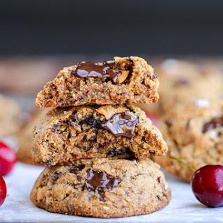 Dried Cherry, Almond + Chocolate Chunk Cookies Recipe