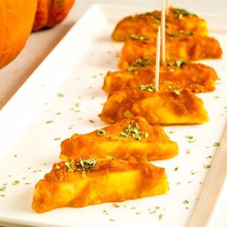 Baked Paneer In Pumpkin Sauce