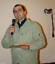 Photo: Organizator konkursu Ksiądz Mirosław Żaczek, wikariusz parafii pw. Św. Antoniego w Kotuniu