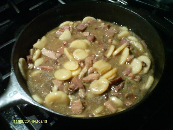 Utton Ham And Beans Recipe
