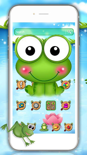 Nutty Bullfrog Theme for PC