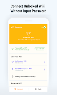 WiFi Connector: Unlocked Password Search & Save - náhled