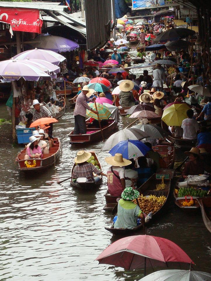 Bangkok, Mercato galleggiante di AngelaStella
