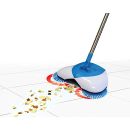 Matura rotativa Hurricane Spin Broom