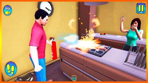 Happy Virtual Family Simulator - Family Dad Life screenshots 11