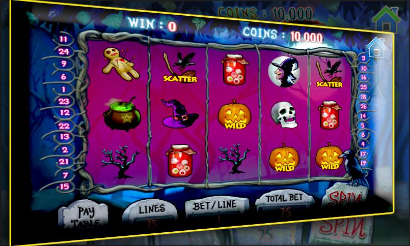 Slot halloween free