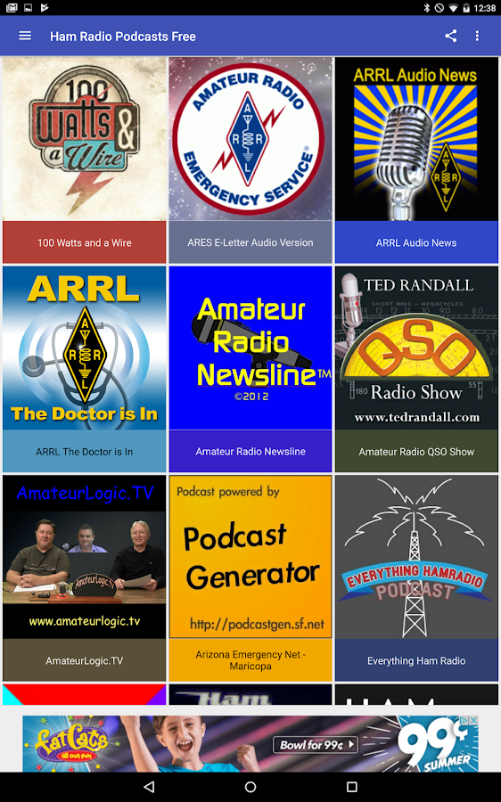 Ham Radio Podcasts Free- screenshot