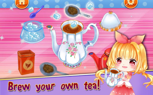 Royal Princess Tea Party Design and Decoration 1.1 screenshots 2