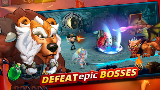 Battle Arena: Heroes Adventure - Online RPG 1.7.1401 screenshots 1