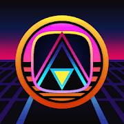 ATOMIC - Dark Retro Future Icons  Icon