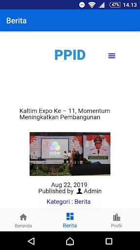 PPID Kaltim screenshots 3