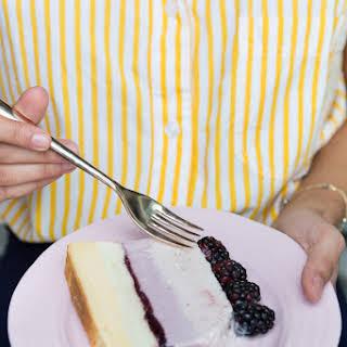 Summer Berry Ice Cream Cake.