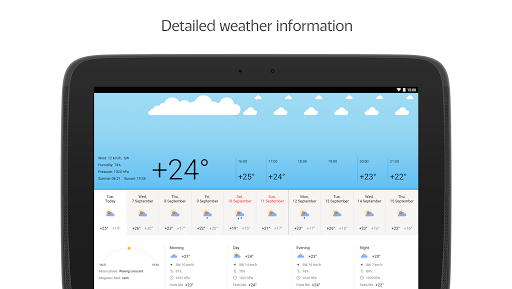 Yandex.Weather screenshot 8