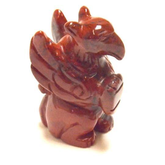 Griffin, staty i olika storlekar och stensorter
