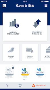 Mi Banco de Chile - náhled