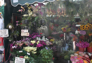 Photo: Day 200 -  Stanley Village Market Flower Stall