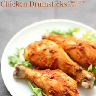 Spicy Thai Red Curry Chicken Drumsticks